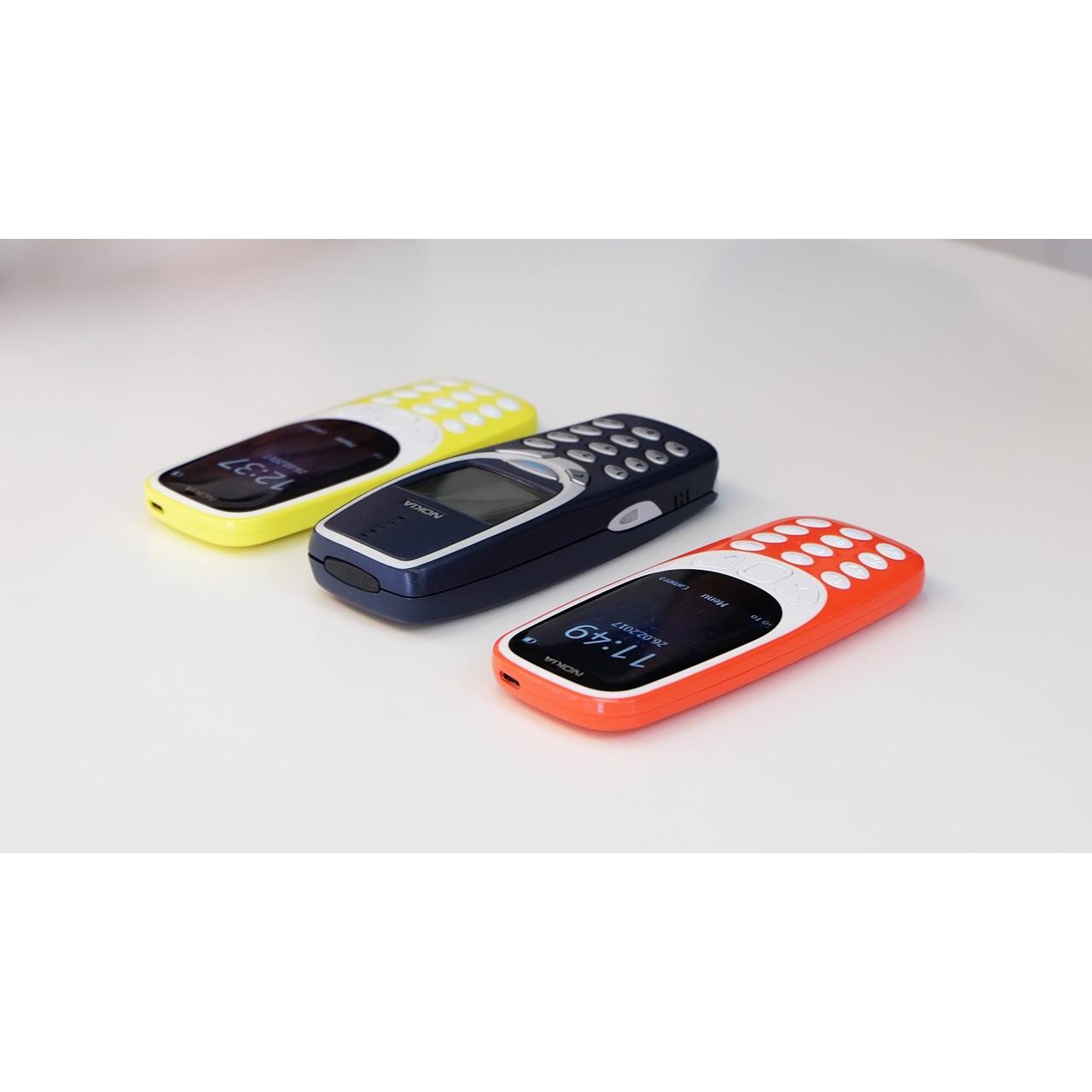 Мобильный телефон Nokia 3310 2017 Dual Sim (серый)