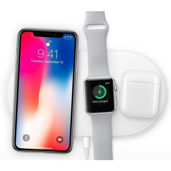 Наушники Apple AirPods 2 with Charging Case (бордовый)