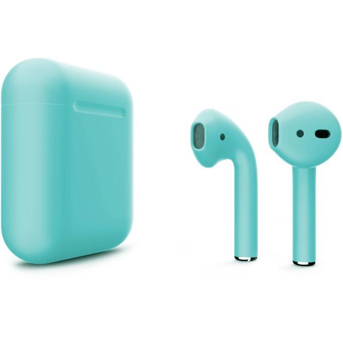 Наушники Apple AirPods 2 with Charging Case (бирюзовый)