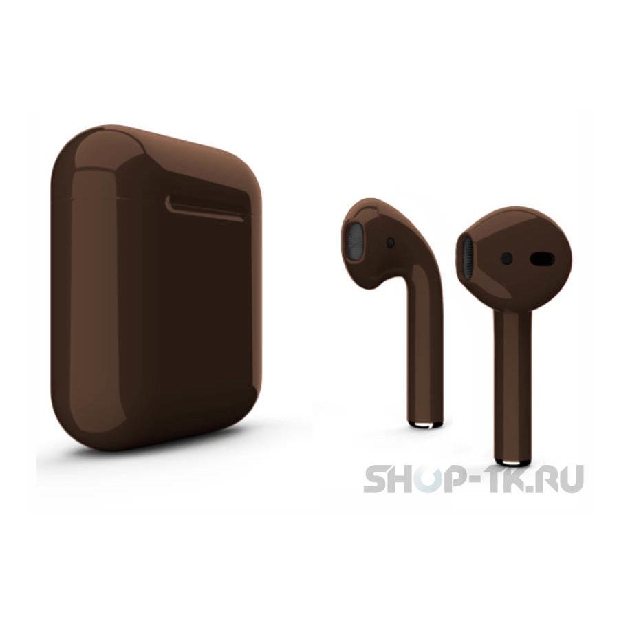 Наушники Apple AirPods 2 with Charging Case (коричневый)