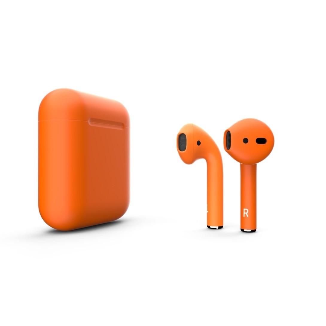 Наушники Apple AirPods 2 with Charging Case (оранжевый)
