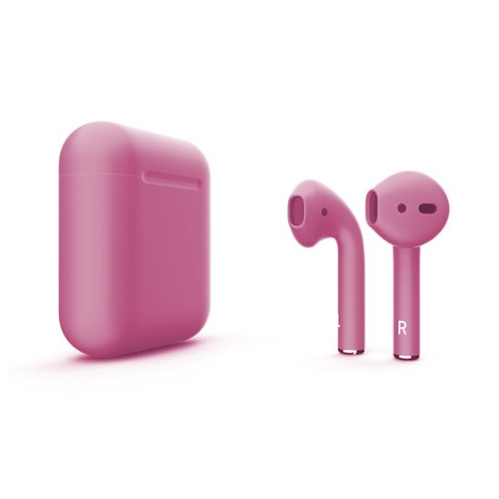 Наушники Apple AirPods 2 with Charging Case (розовый)