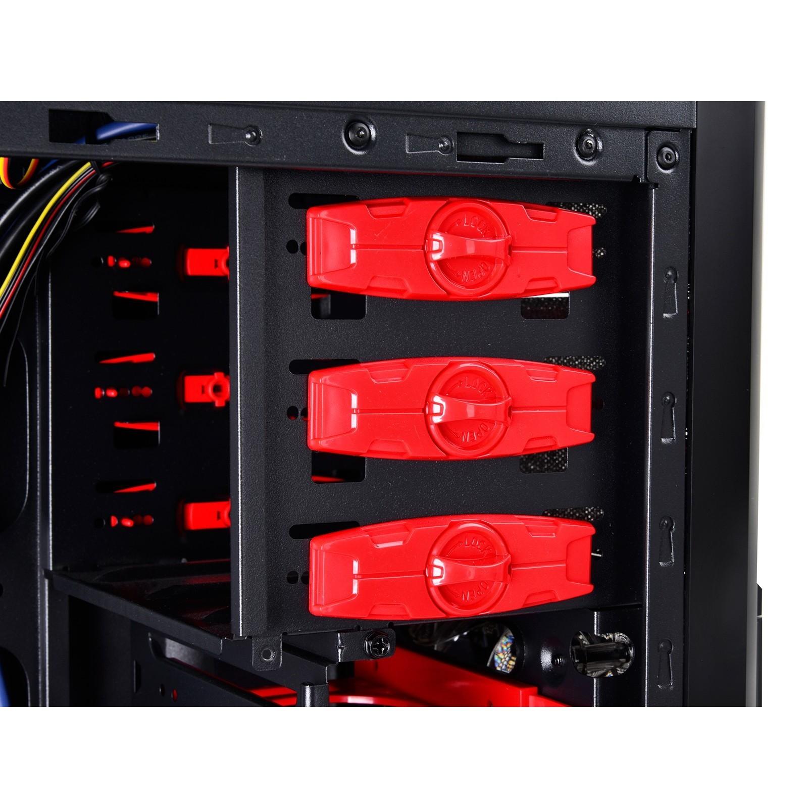 Корпус (системный блок) Deepcool Kendomen DP-CCATX-KDM5FBKRD