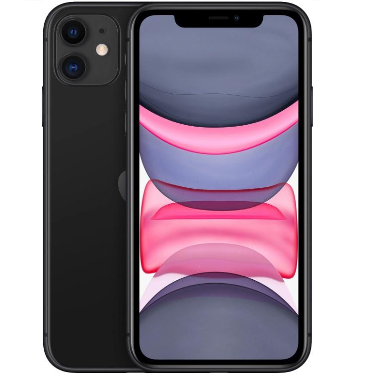 Мобильный телефон Apple iPhone 11 64GB (черный)