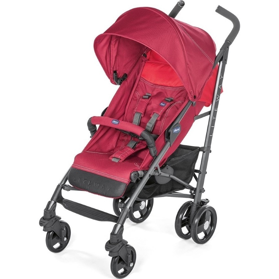 Коляска Chicco Lite Way 3 Top (серебристый)