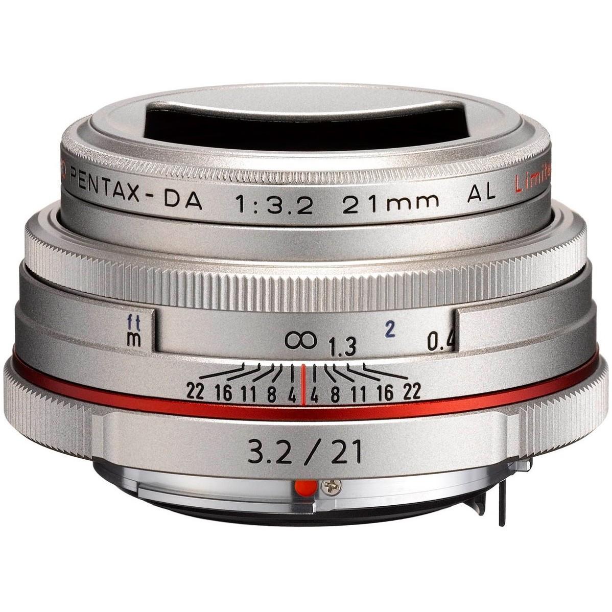 Объектив Pentax HD DA 21mm f/3.2 AL Limited