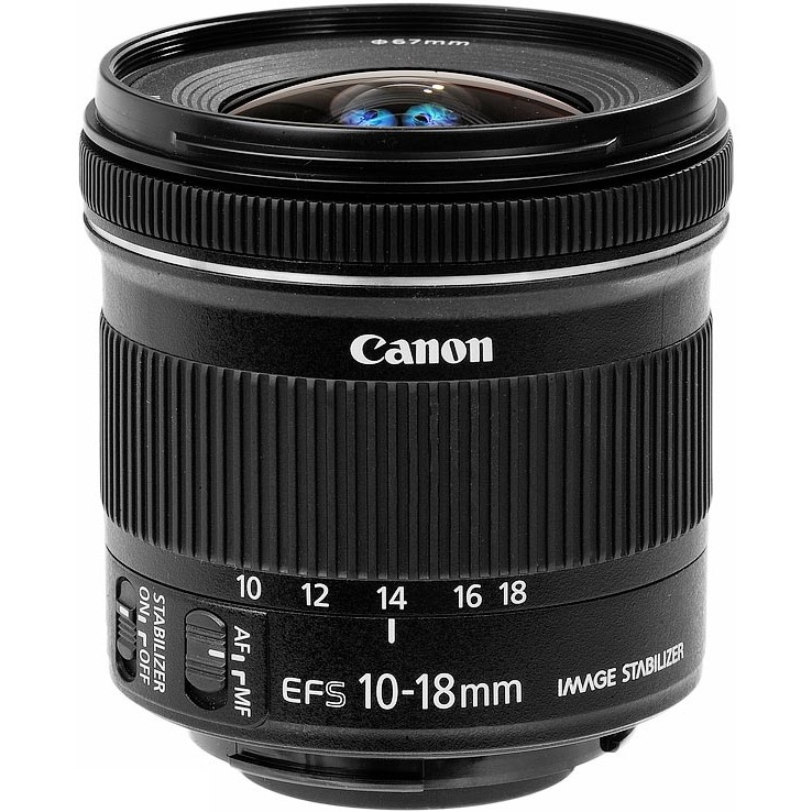 Объектив Canon EF-S 10-18mm f/4.5-5.6 IS STM