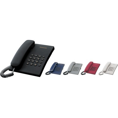 Проводной телефон Panasonic KX-TS2350 (белый)