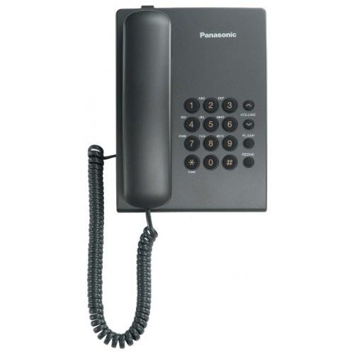 Проводной телефон Panasonic KX-TS2350 (синий)