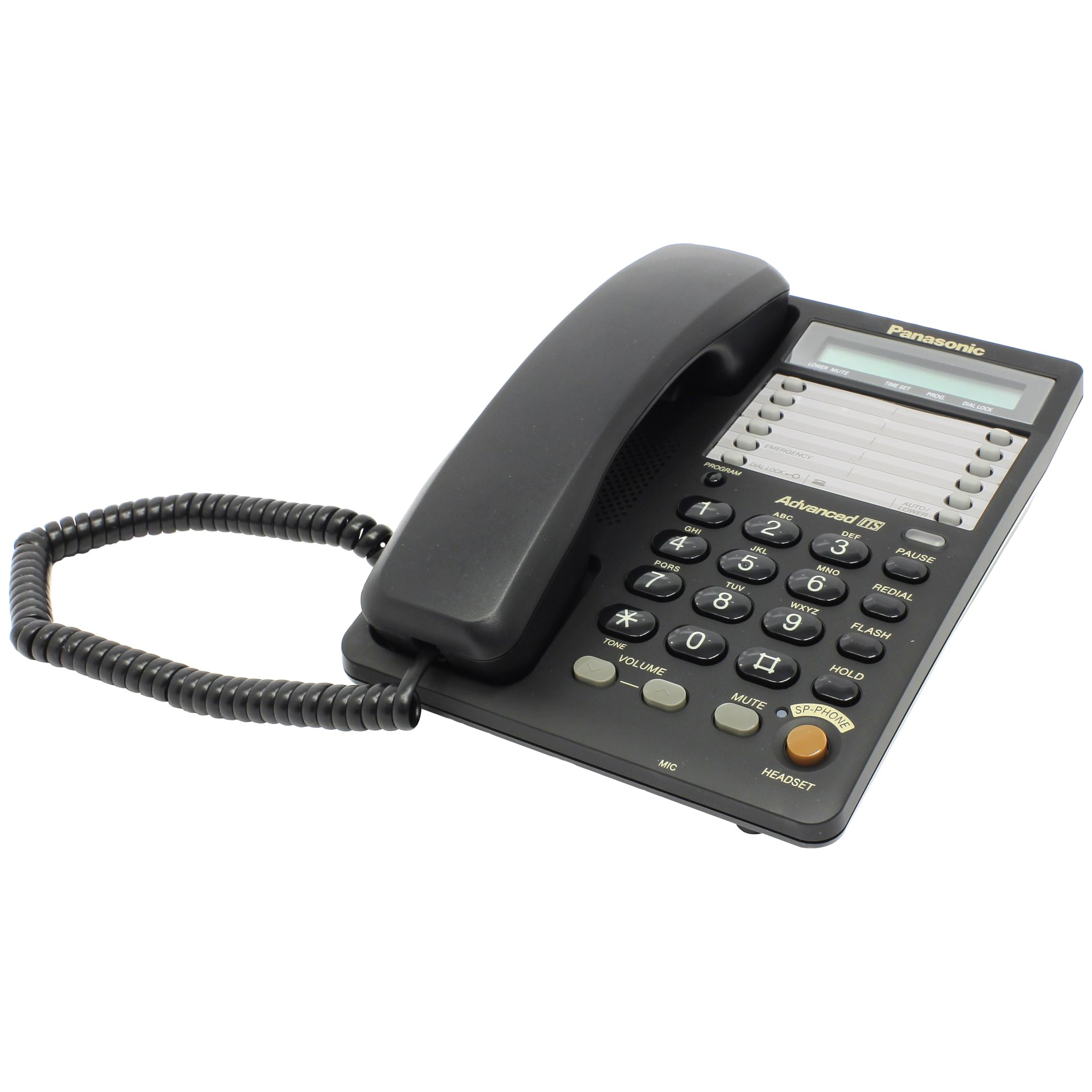Проводной телефон Panasonic KX-TS2365 (черный)