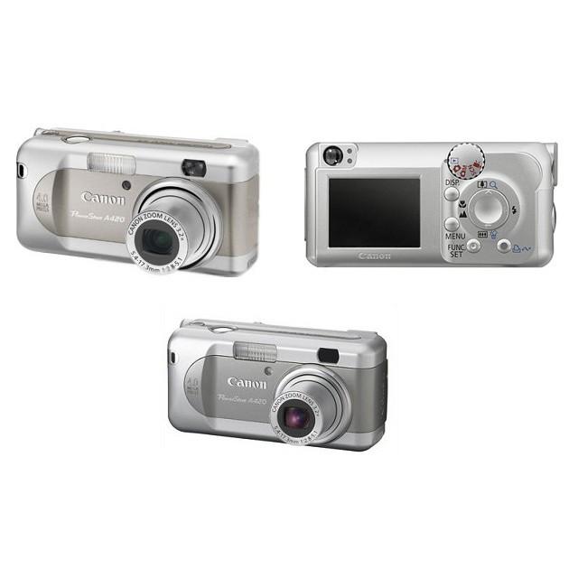 Фотоаппарат Canon PowerShot A420
