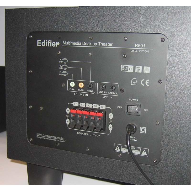 Компьютерные колонки Edifier R501