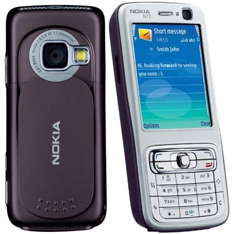 Мобильный телефон Nokia N73