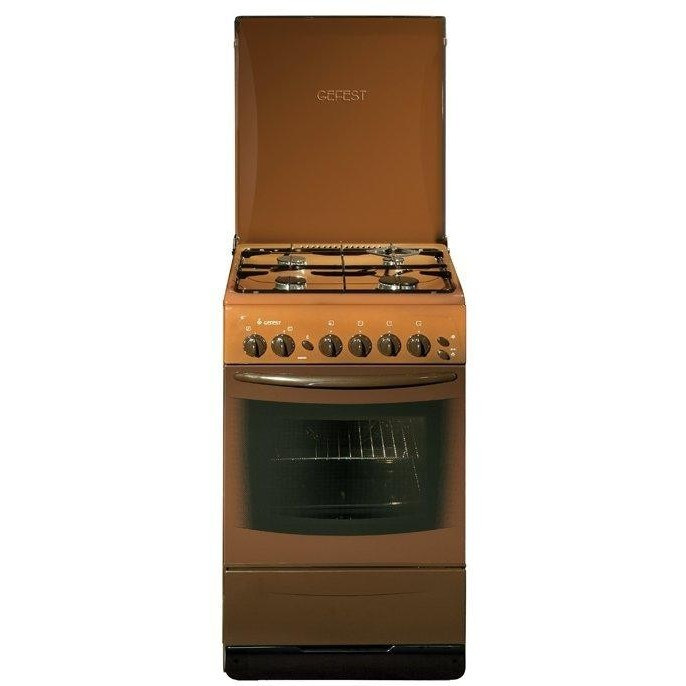Плита Gefest 3100-08 (коричневый)