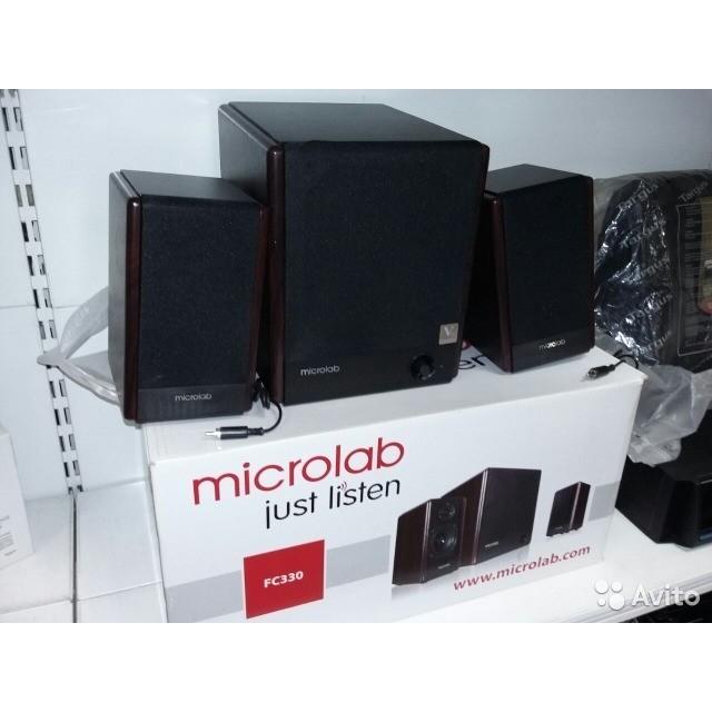 Компьютерные колонки Microlab FC-330