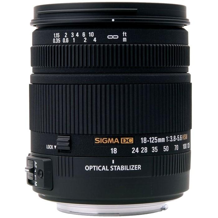 Объектив Sigma AF 18-125mm F3.5-5.6 DC