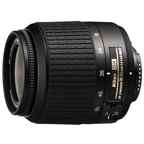 Объектив Nikon 18-55mm f/3.5-5.6G ED AF-S DX Zoom-Nikkor