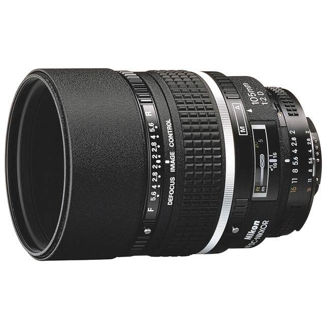 Объектив Nikon 105mm f/2.0D AF DC-Nikkor