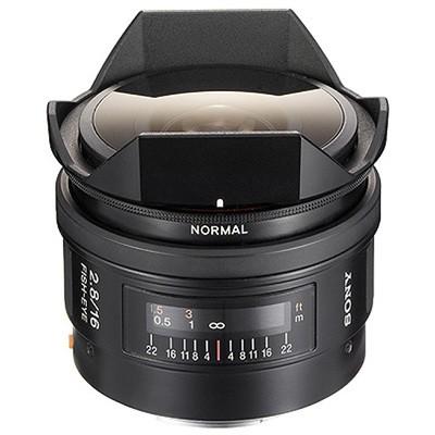Объектив Sony SAL-16F28 16mm F2.8