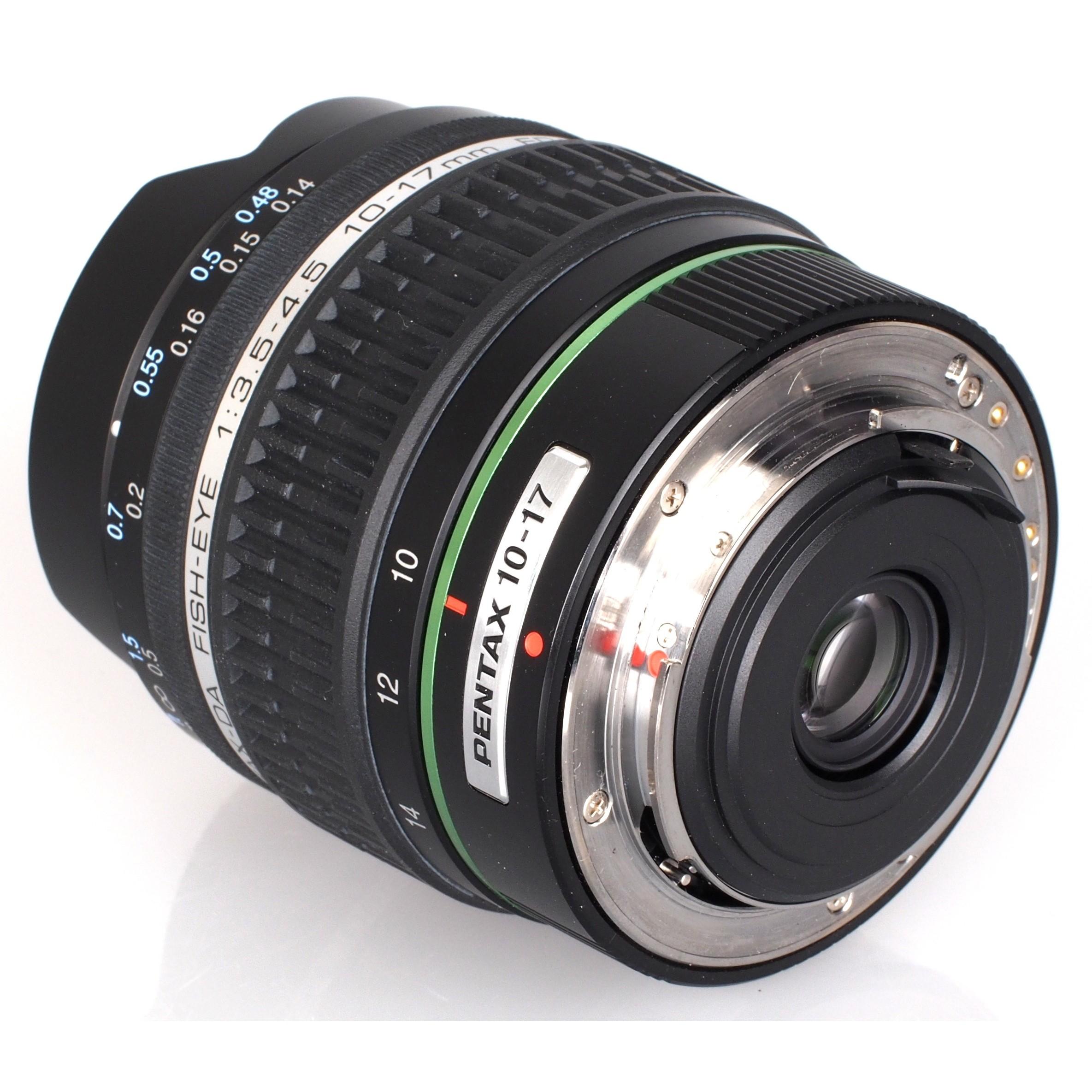 Объектив Pentax SMC DA 10-17mm f/3.5-4.5 ED (IF) Fish-Eye