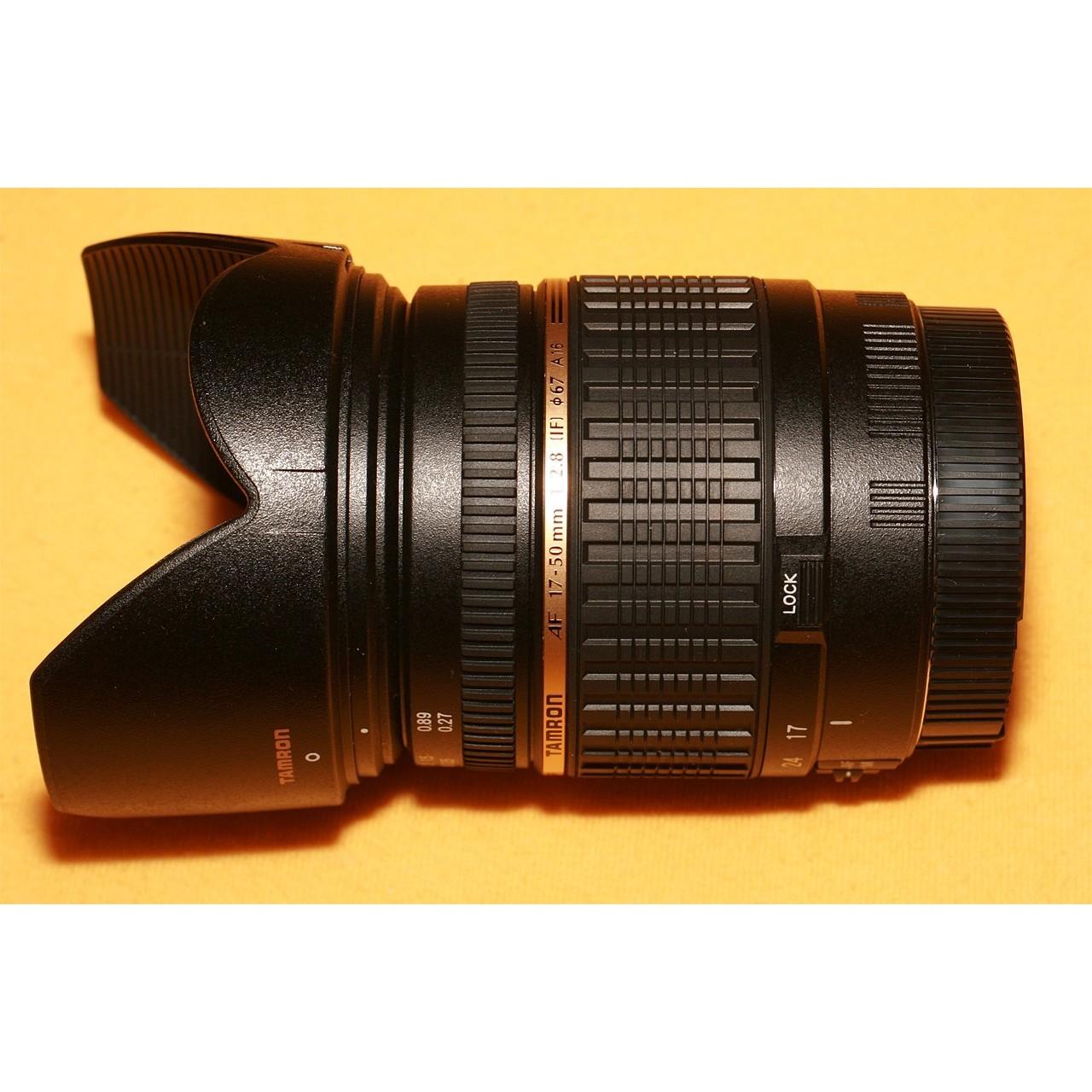 Объектив Tamron 17-50mm F/2.8 XR Di II LD Aspherical (IF)