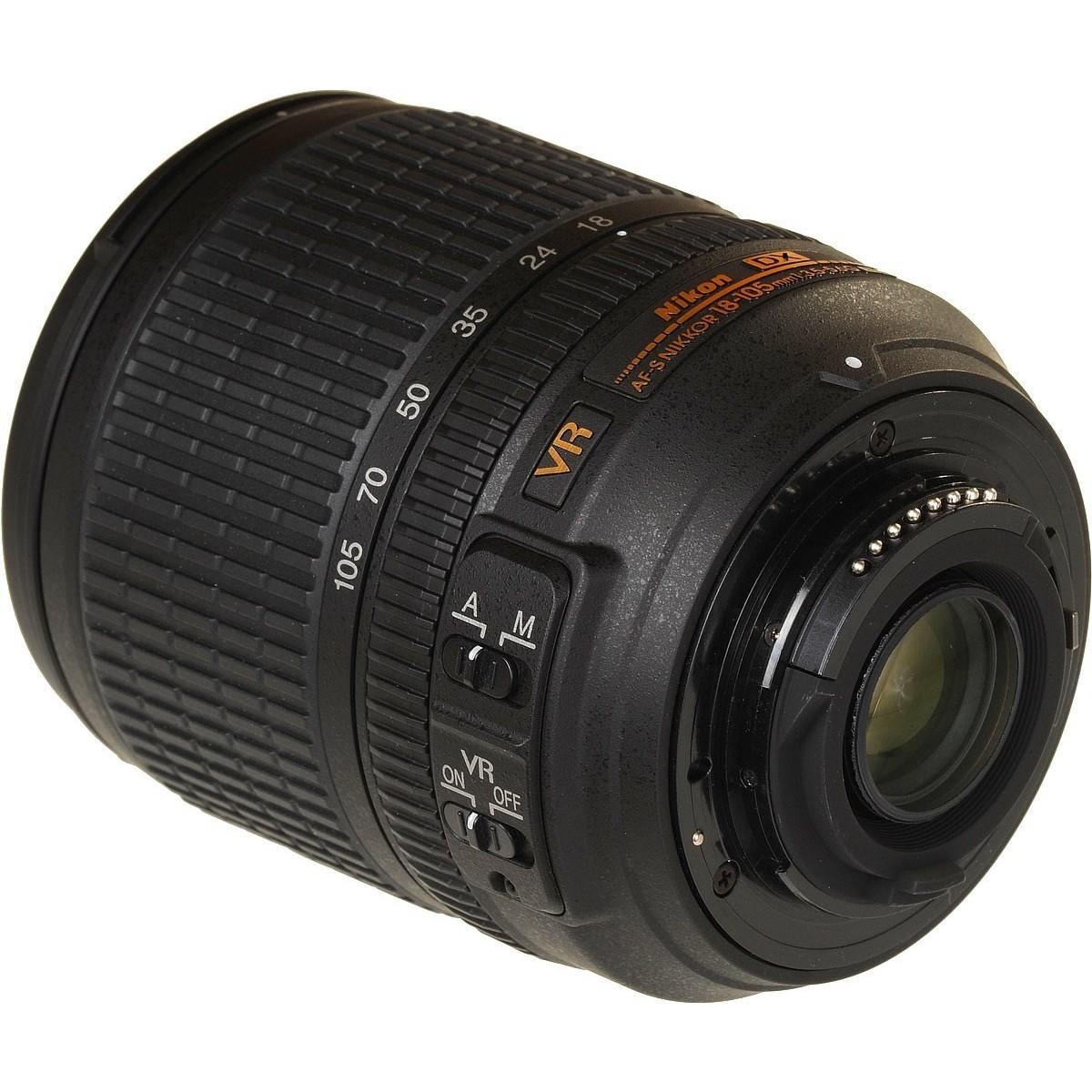 Объектив Nikon 18-105mm f/3.5-5.6G ED VR AF-S DX Nikkor