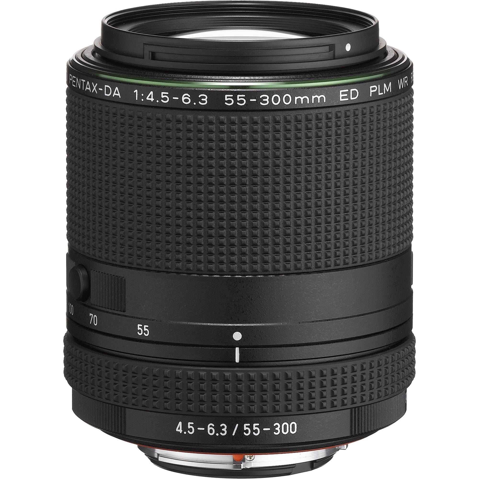 Объектив Pentax HD DA 55-300mm f/4.5-6.3 ED WR RE PLM