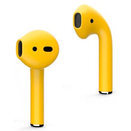 Наушники Apple AirPods (желтый)