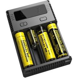 Зарядка аккумуляторных батареек Nitecore Intellicharger NEW i4