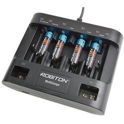 Зарядка аккумуляторных батареек Robiton MultiCharger