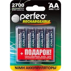 Аккумуляторная батарейка Perfeo 4xAA 2700 mAh