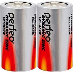 Аккумуляторная батарейка Perfeo Dynamic Zinc 2xD