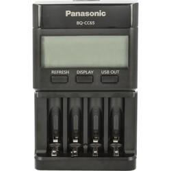 Зарядка аккумуляторных батареек Panasonic Flagship Charger BQ-CC65E