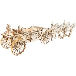 3D пазл UGears Royal Carriage