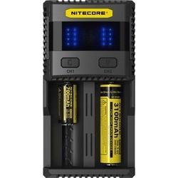 Зарядка аккумуляторных батареек Nitecore SC2