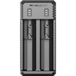 Зарядка аккумуляторных батареек Nitecore UI2