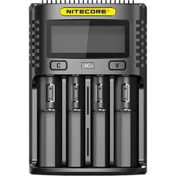 Зарядка аккумуляторных батареек Nitecore UMS4