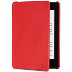 Чехол к эл. книге Amazon Leather Cover for Kindle Paperwhite (красный)