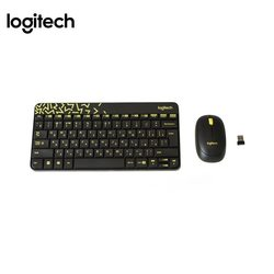 Клавиатура Logitech Wireless Combo MK240 (черный)