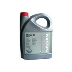 Моторное масло Nissan Motor Oil 5W-40 5L