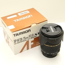 Объектив Tamron 28-75mm F/2.8 XR Di LD Aspherical (IF)