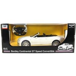 Радиоуправляемая машина Rastar Bentley Continental GT 1:12 (белый)