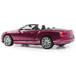 Радиоуправляемая машина Rastar Bentley Continental GT 1:12 (розовый)