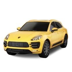 Радиоуправляемая машина Rastar Porsche Macan Turbo 1:24 (желтый)