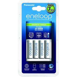 Зарядка аккумуляторных батареек Panasonic Advanced Charger + Eneloop 4xAA 1900 mAh