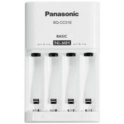 Зарядка аккумуляторных батареек Panasonic Eneloop Basic BQ-CC51E