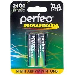 Аккумуляторная батарейка Perfeo 2xAA 2100 mAh