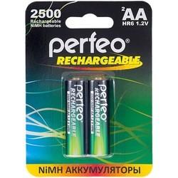 Аккумуляторная батарейка Perfeo 2xAA 2500 mAh