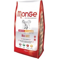 Корм для собак Monge Daily Adult Mini Chicken 3 kg