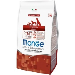 Корм для собак Monge Speciality Adult All Breed Lamb/Rice/Potatoes 2.5 kg